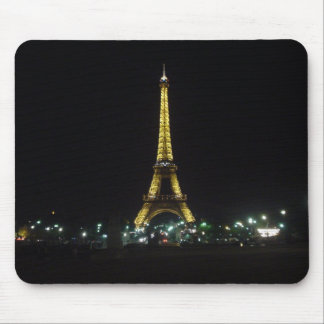 Eiffelturm bis zum Nacht Mauspads