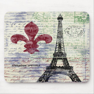 Eiffelturm Frankreich Mousepad