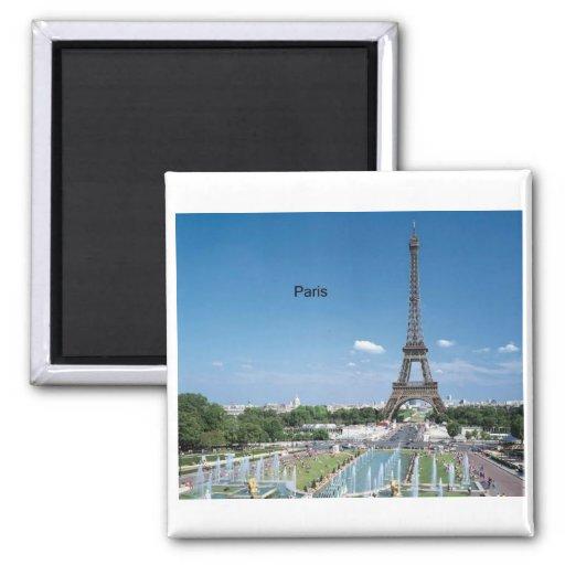 Eiffelturm Frankreichs Paris (durch St.K) Magnets