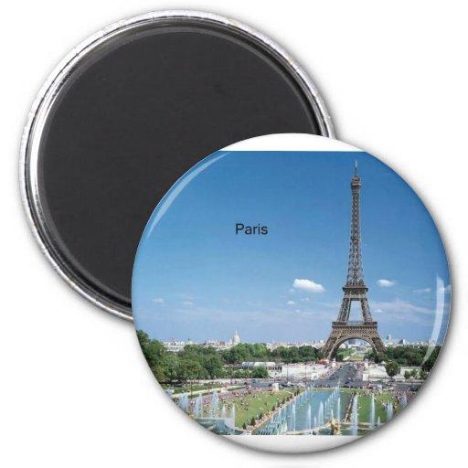 Eiffelturm Frankreichs Paris (durch St.K) Kühlschrankmagnete