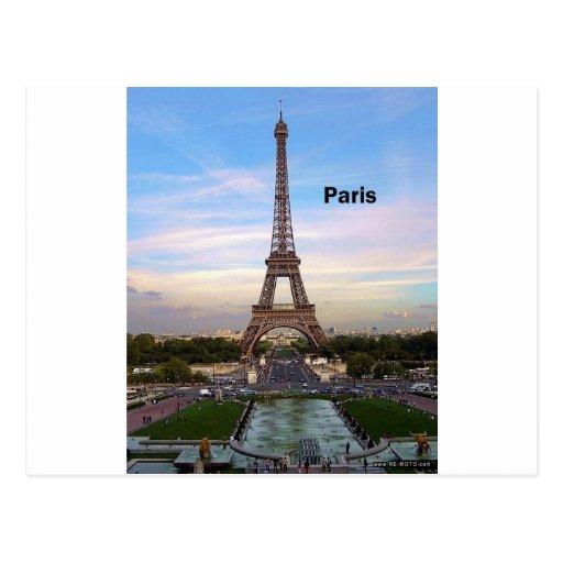 Eiffelturm Frankreichs Paris (durch St.K) Postkarte