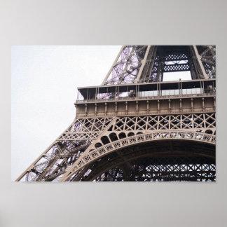 Eiffelturm im Fall Poster