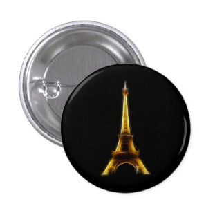 Eiffelturm in Paris Frankreich Runder Button 2,5 Cm
