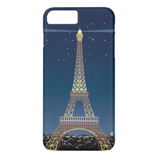 Eiffelturm iPhone 7 Plus kaum dort iPhone 8 Plus/7 Plus Hülle