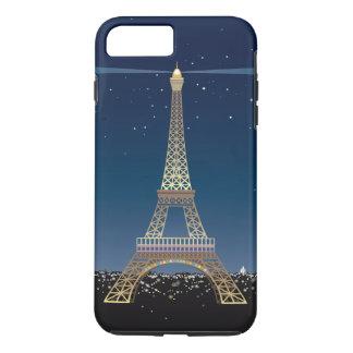 Eiffelturm iPhone 7 starker Plusfall iPhone 8 Plus/7 Plus Hülle