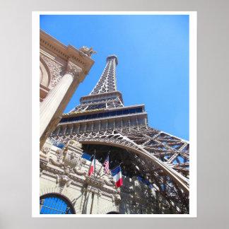 Eiffelturm Las Vegas Boulevard Poster