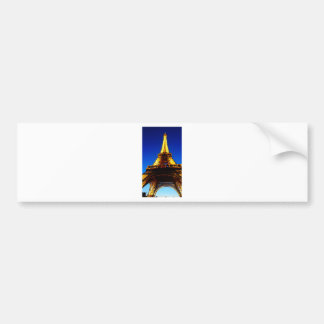 Eiffelturm nachts autoaufkleber