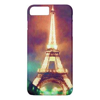 Eiffelturm nachts iPhone 8 plus/7 plus hülle