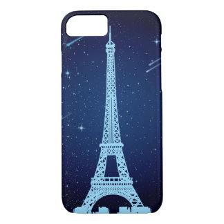 Eiffelturm-Nachtszene iPhone 8/7 Hülle