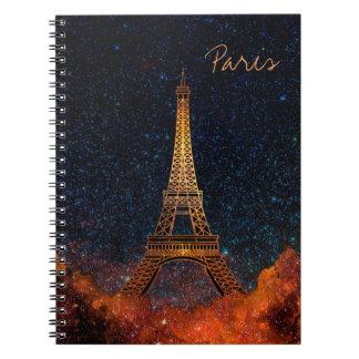 Eiffelturm Notizblock