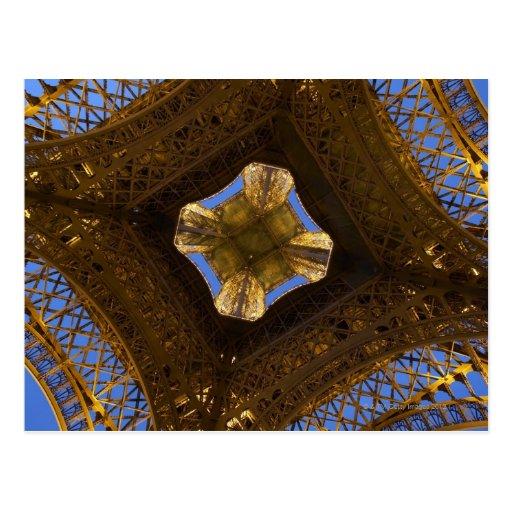 Eiffelturm, Paris, Frankreich 2 Postkarte