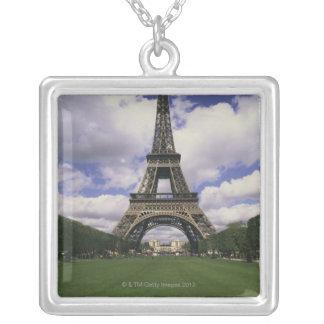 Eiffelturm, Paris, Frankreich 3 Versilberte Kette