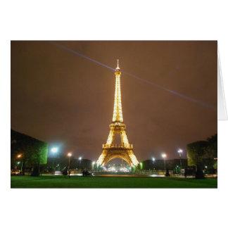 Eiffelturm Paris Frankreich - Frühjahr-Ferien Karte