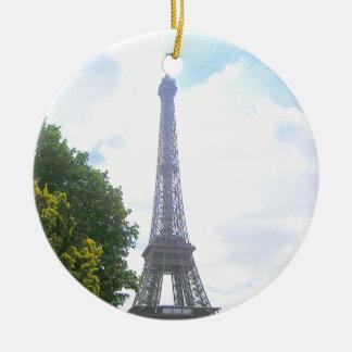 Eiffelturm, Paris Frankreich Keramik Ornament