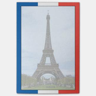 Eiffelturm, Paris, Frankreich Post-it Klebezettel