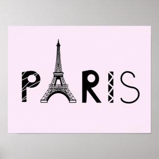 Eiffelturm Paris, Frankreich | Poster