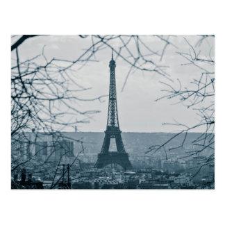Eiffelturm, Paris, Frankreich Postkarte