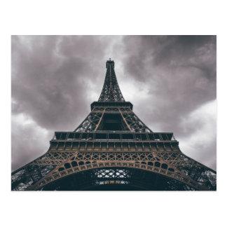 Eiffelturm-Paris-Franzose-Reise Postkarte