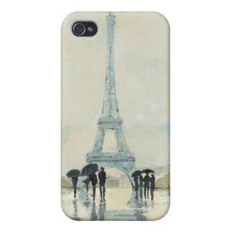 Eiffelturm   Paris im Regen Etui Fürs iPhone 4
