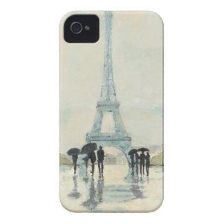 Eiffelturm   Paris im Regen iPhone 4 Cover