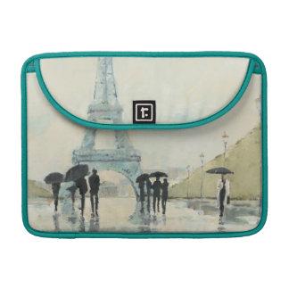 Eiffelturm | Paris im Regen Sleeve Für MacBooks