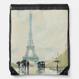 Eiffelturm | Paris im Regen Sportbeutel
