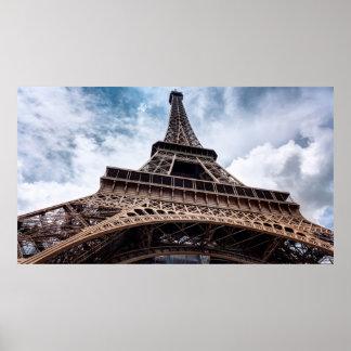 Eiffelturm-Perspektive Poster