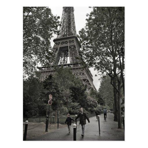 Eiffelturm-Postkarte