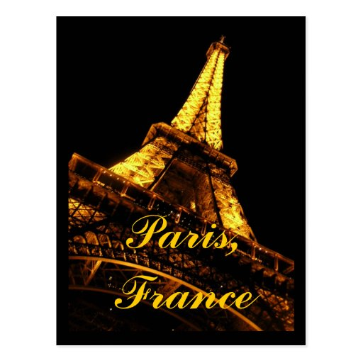Eiffelturm-Postkarte Paris Frankreich