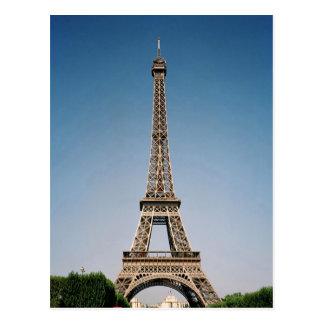 Eiffelturm-Postkarte Paris Frankreich Postkarte
