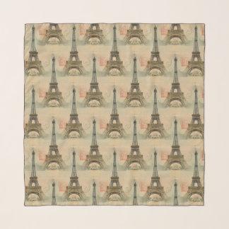 Eiffelturm-Postkarten-Schal Schal