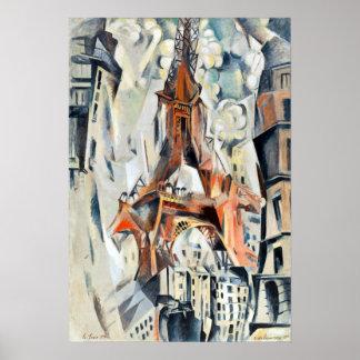 Eiffelturm Roberts Delaunay Poster