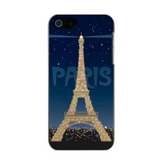 Eiffelturm-Schein iPhone SE/5/5S Incipio Fall Incipio Feather® Shine iPhone 5 Hülle