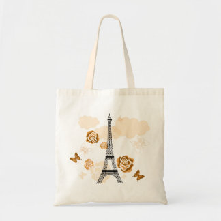 Eiffelturm-Tasche Budget Stoffbeutel