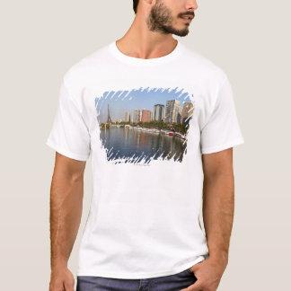Eiffelturm und die Seine T-Shirt