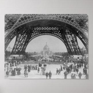 Eiffelturm - Weltausstellung 1889 Poster