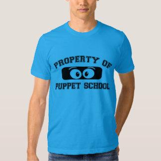 Eigentum der Marionetten-Schule T-shirt