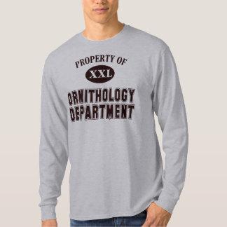Eigentum der Vogelkunde-Abteilung T-Shirt
