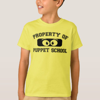 Eigentum des Marionetten-Schuljüngeren! T-Shirt