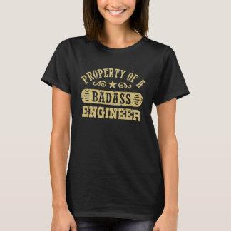 Eigentum eines Badass Ingenieurs T-Shirt