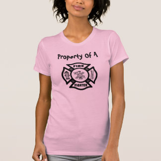 Eigentum eines Feuerwehrmanns T-Shirt