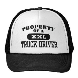 Eigentum eines LKW-Fahrers Retromütze