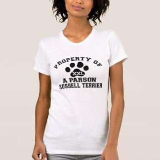 Eigentum eines Pastors Russell Terrier T Shirts