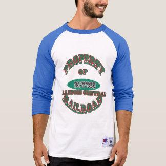 Eigentum Illinois zentraler Eisenbahn-Version 2 T-Shirt