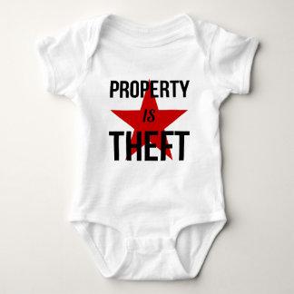 Eigentum ist Diebstahl - Baby Strampler