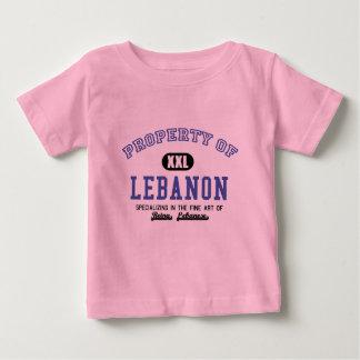 Eigentum vom Libanon Baby T-shirt