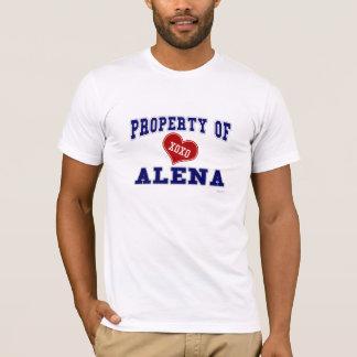Eigentum von Alena T-Shirt