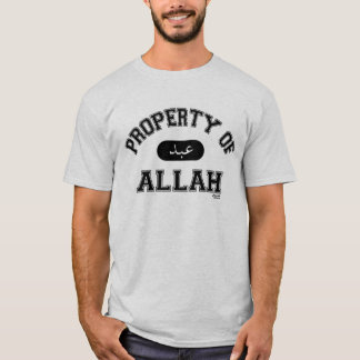 Eigentum von Allah T-Shirt