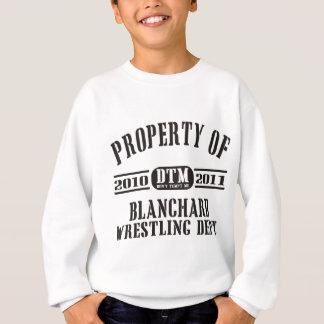 Eigentum von Blanchard Wrestling Sweatshirt