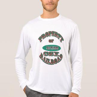 Eigentum von CSX-Eisenbahn-Version 2 T-Shirt